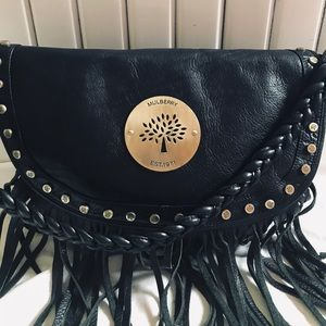 Mulberry Daria bag with fringes